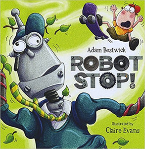 Robot Stop - Bargain Picture Story Books | Bags of Books | Ireland