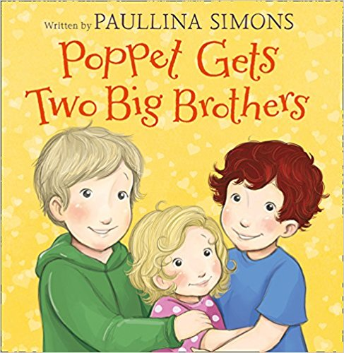 Poppet gets Two Big Brothers -Sibling Books | Bags of Books | Ireland
