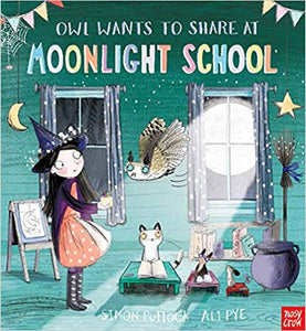 Owl Wants to share at Moonlight School | Bags of Books | Ireland