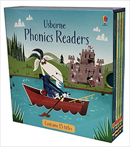 Box Set of 15 Usbourne phonics readers
