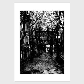 Cobbled Street, Harrogate, North Yorkshire