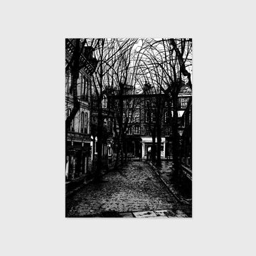 Postcard - Cobbled Street (Pack of 4)