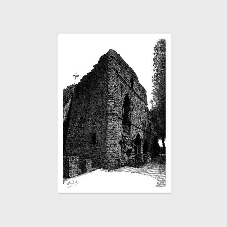 Postcard - Knaresborough Castle (Pack of 4)