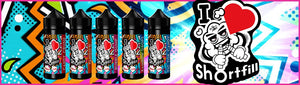 I Love Shortfill | Shake N Vape 50ml | £9.99 Free UK Shipping - Just Launched at Vape.A.Box