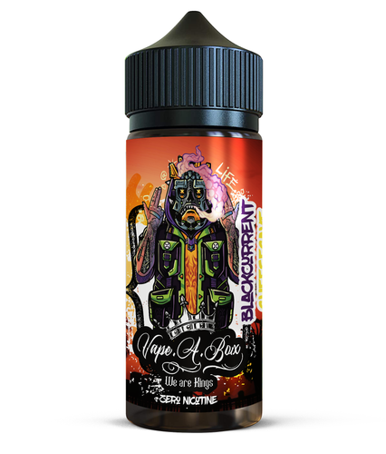 Blackcurrant Cheesecake 100ml | New Vape Street shortfill e-liquid