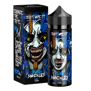 Blue Shackles 100ml 0mg - Just Vape It E-liquid