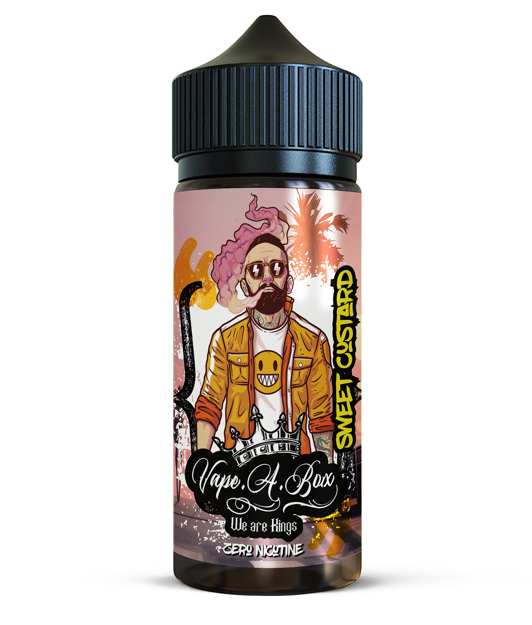 Sweet Custard 100ml | New Vape Street shortfill e-liquid