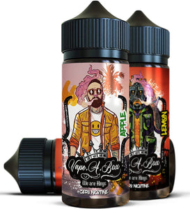 Mega Fruit Bundle | 1 x 100ml Apple & Mango,  1 x 100ml Apple Sour & 1 x 100ml Lemon Sherbet | New Vape Street shortfill e-liquid