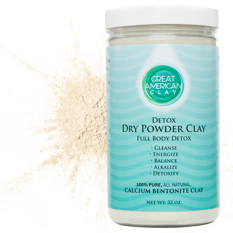 Dry Powder Clay – Full Body Detox 12 oz