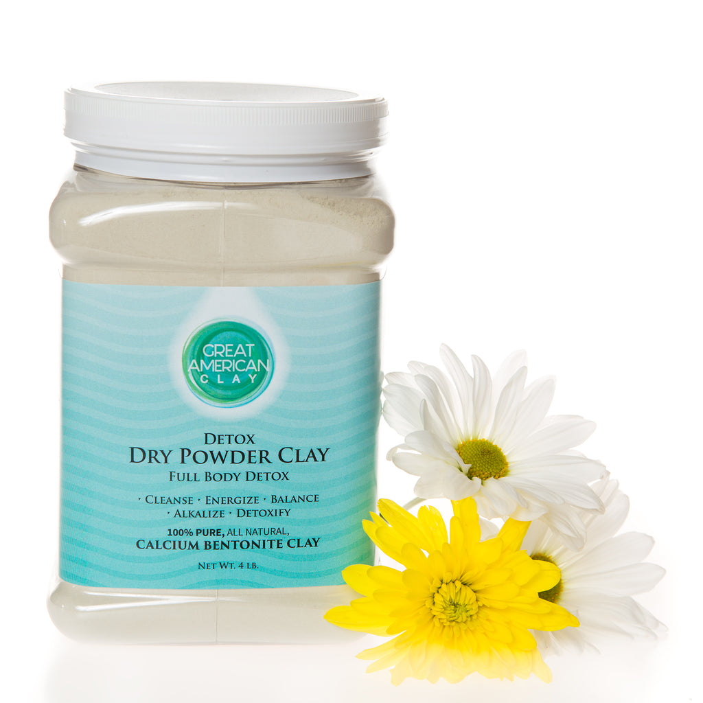 Dry Powder Clay – Full Body Detox 4 lbs