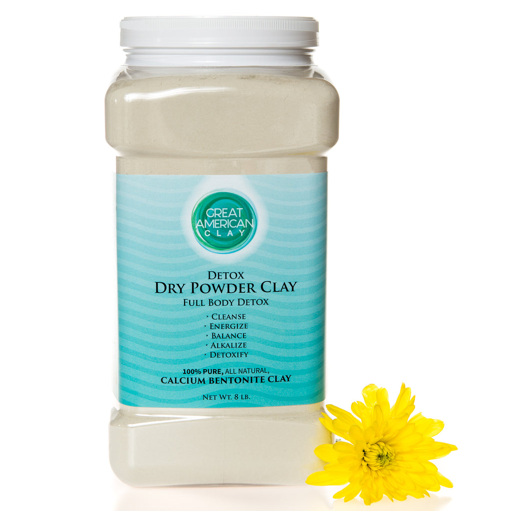 Dry Powder Clay – Full Body Detox 8 lb.