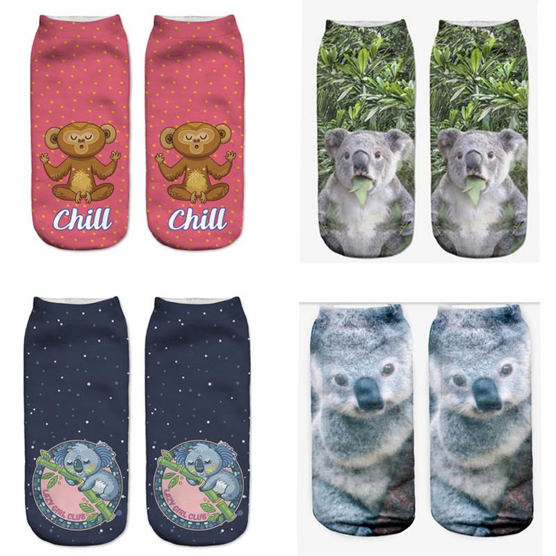 K|B Women's Koala Ankle Socks