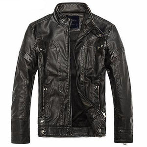 Men's Classic Biker Jacket