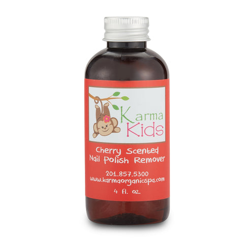 Karma Kids Nail Polish Remover, Cherry Scented