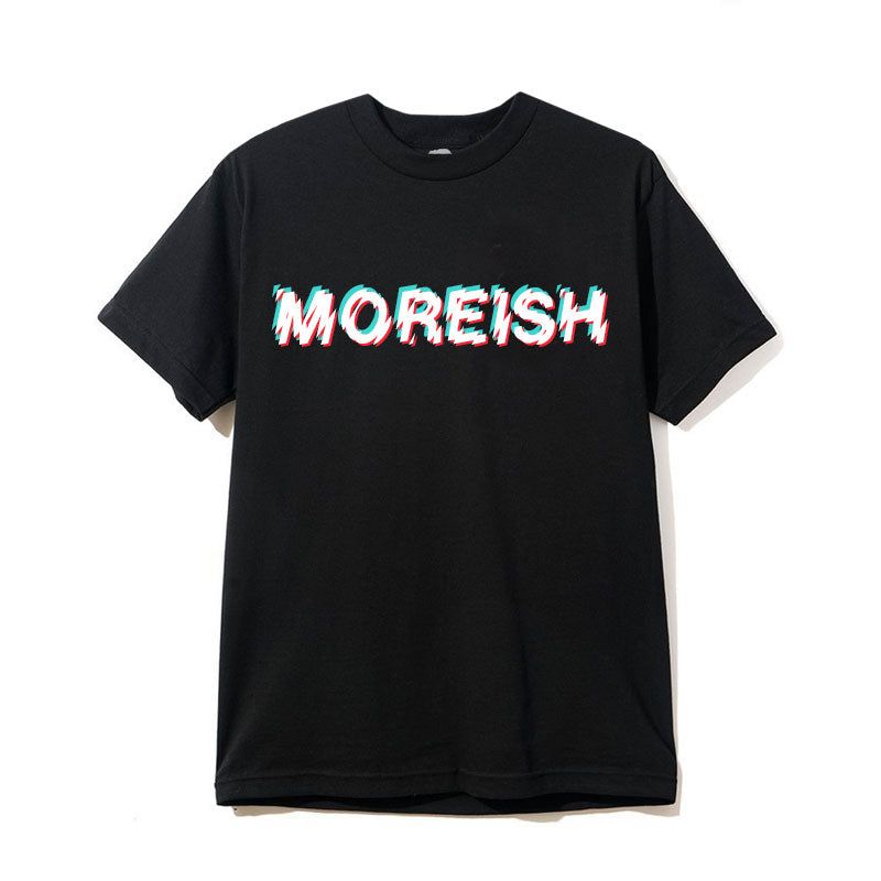 MOREISH BLACK T-SHIRT