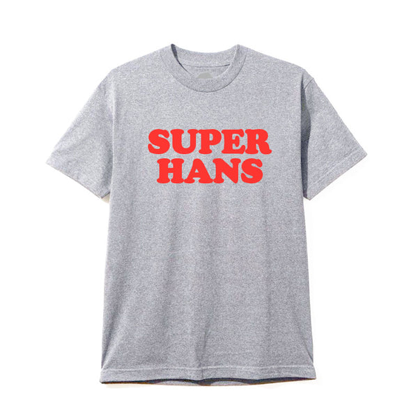 RED LOGO GREY T-SHIRT