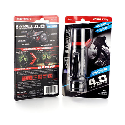 B.A.M.F.F. 4.0 - 400 Lumen Dual LED Flashlight