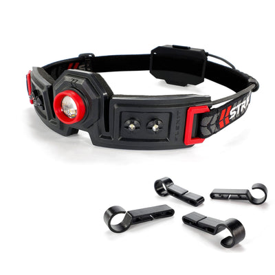 Striker Concepts FLEXIT Headlamp 2.5 with hard hat clips