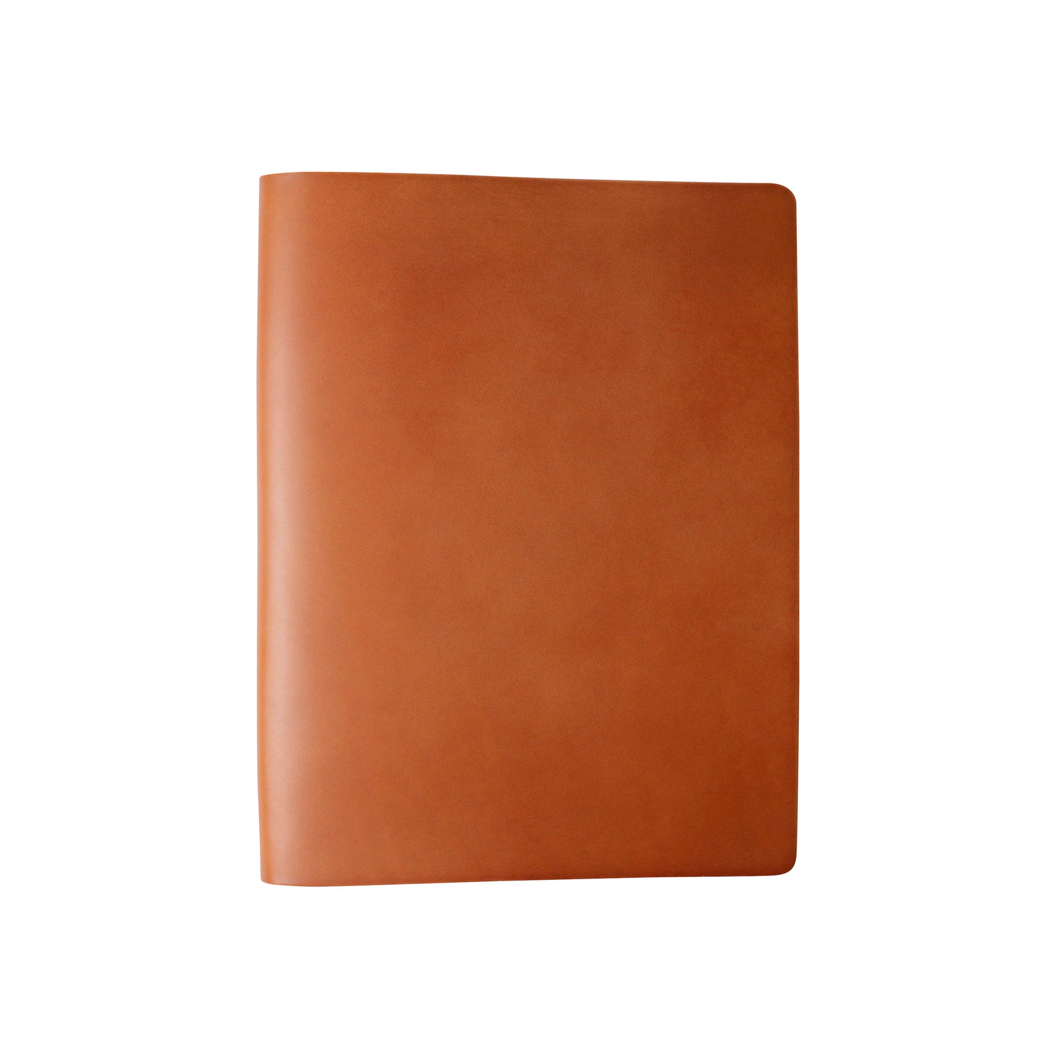 2-Post Leather Binder | Brown