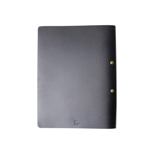 2-Post Leather Binder | Black