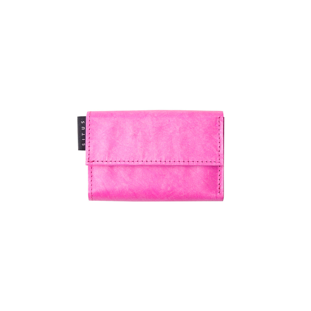 SITUS Minimalist Wallet / Fluorescent Pink(ミニマリストウォレット / フルーレセントピンク)※通常発送
