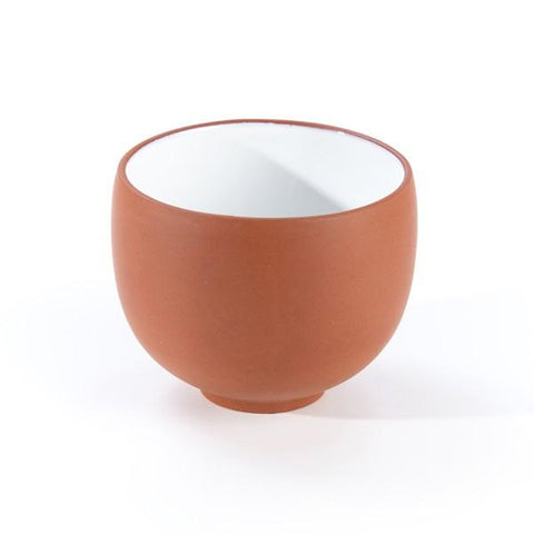 Huan Chinese Yi-Xing Clay Teacup (Red) - Le Palais Des Thes