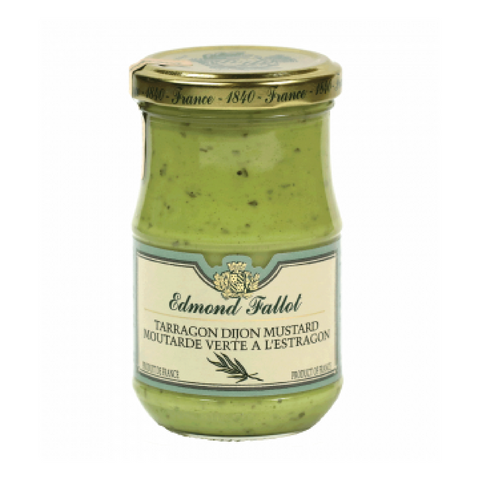 Edmond Fallot Green Tarragon Mustard 7.4 oz (210g) Wholesale
