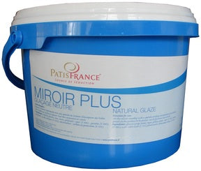 Patisfrance Mirror Plus Neutral Glaze - 2 x 17.6 lbs (Wholesale prices. Sold per case only)