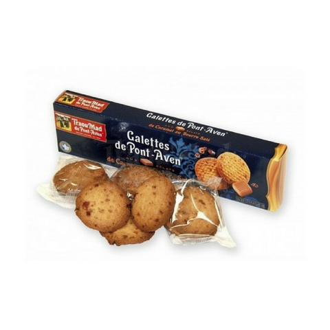 French Salted Caramel Butter Cookies by Traou Mad 3.5 oz