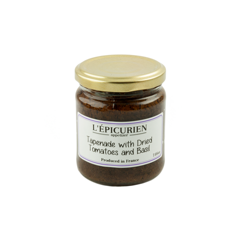 Epicurien Tapenade with Dried Tomatoes and Basil 7 oz