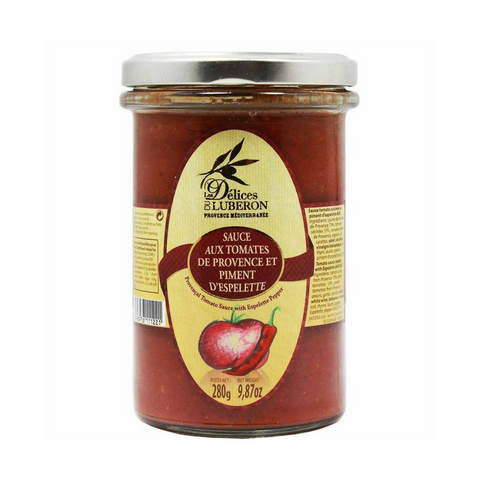 Delices du Luberon Tomato Sauce from Provence 9.8 oz