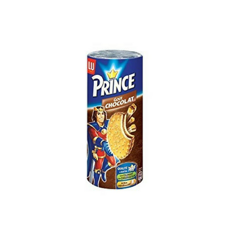 Large Pack French Prince Chocolate Sandwich Cookie by LU 10.6 oz