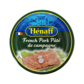 12 Pack Henaff Authentic French Pork Pate Wholesale