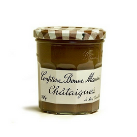 (3 PACK) Bonne Maman Chestnut Jam 3 oz. Imported from France Multipack