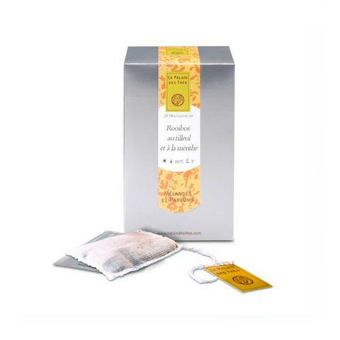 LIME BLOSSOM & MINT ROOIBOS - Palais Des Thes