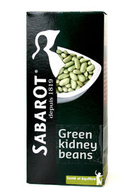 Sabarot Chevrier Flageolet Beans (Wholesale prices. Sold per case only)