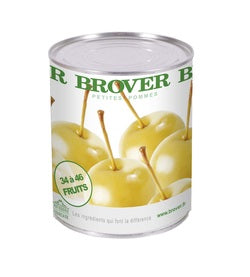 Brover Mini-Apples in light syrup - 12 x 820 g (Wholesale prices. Sold per case only)