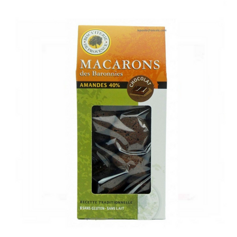 Macarons des Barronnies - Biscuiterie de Provence -  Chocolate - gluten free
