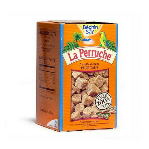 La Perruche Brown Sugar Cubes, White, 26.5-Ounce