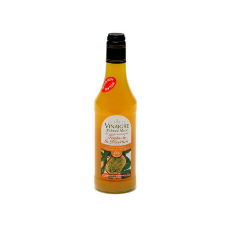 White alcohol vinegar 6° flav. with passion fruit syrup 50cl