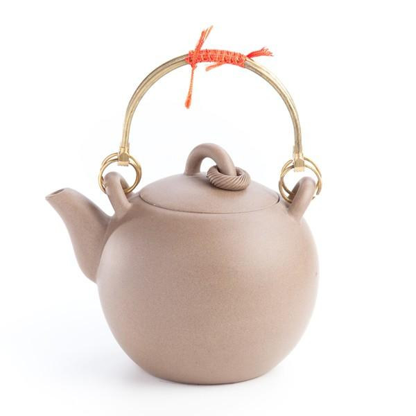 Huan Chinese Yi-Xing Clay Teapot (BEIGE)- Palais Des Thes
