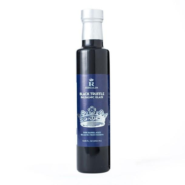 Black Truffle Infused Balsamic Glaze 250 ml Regalis Food
