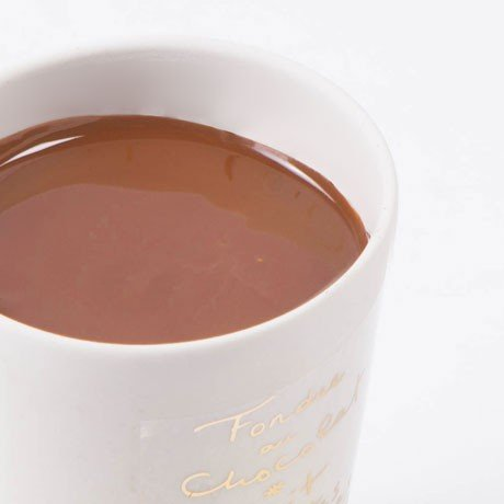 Aux Anysetiers du Roy Milk Chocolate and Crushed Hazelnuts Fondue in Pottery Crock 7oz