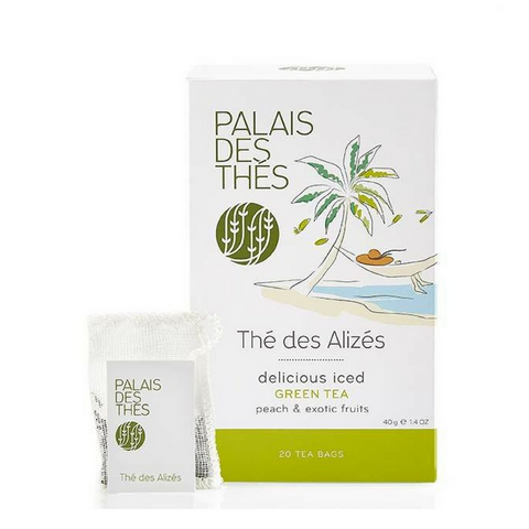 THÉ DES ALIZÉS green tea Signature Tea Blend from Paris - Palais Des Thes