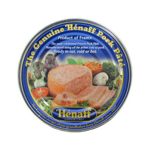 6 Pack Henaff Authentic French Pork Pate Multipack