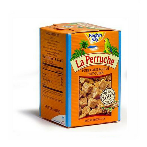 La Perruche Brown Sugar Cubes, White, 8.8-Ounce