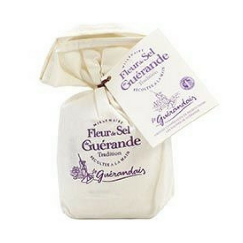 Gros Sel de Guerande Coarse Grey Sea Salt in Linen Bag 26.4 oz. (750 g)  Write a review