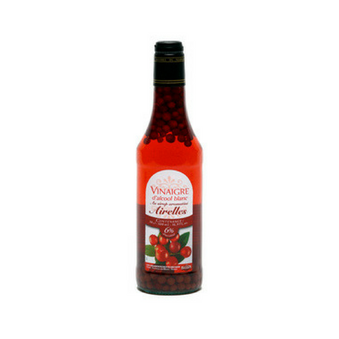 White alcohol vinegar 6° flav. with raspberry syrup and fruits 50cl