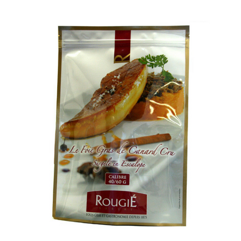 IQF DUCK FOIE GRAS SLICES Rougie Wholesale (PRICE/LB)