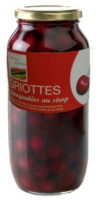 Pellorce & Jullien Sour Cherries in light syrup - 6 x 1k g (Wholesale prices. Sold per case only)